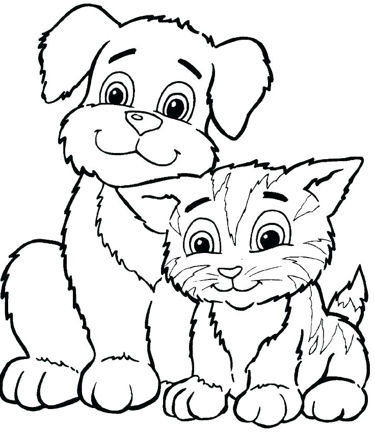 736x847 Cute Coloring Pages For Kids Cute Coloring Pages Of Animals Cute