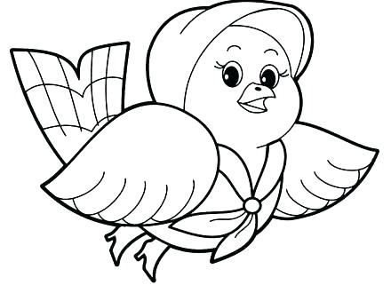 440x330 Animal Coloring Pages For Preschoolers