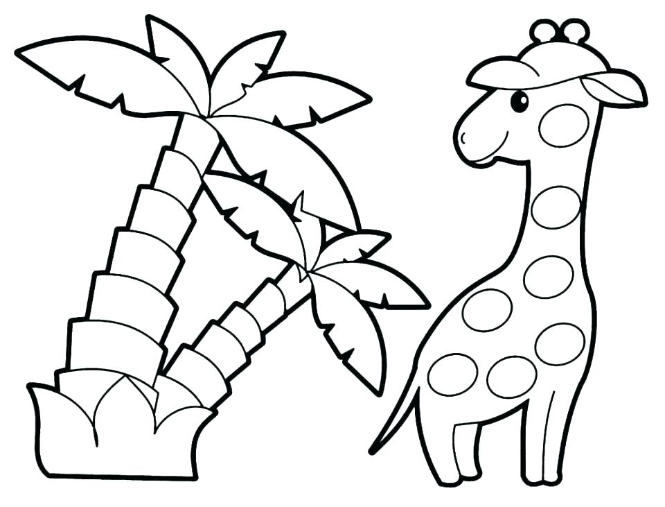 960x731 Coloring Pages Cute Animals Animal Coloring Pages Cute Animal