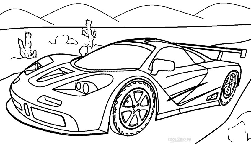 Printable Coloring Pages For Boys Cars in kids coloring pages for ... | 490x850