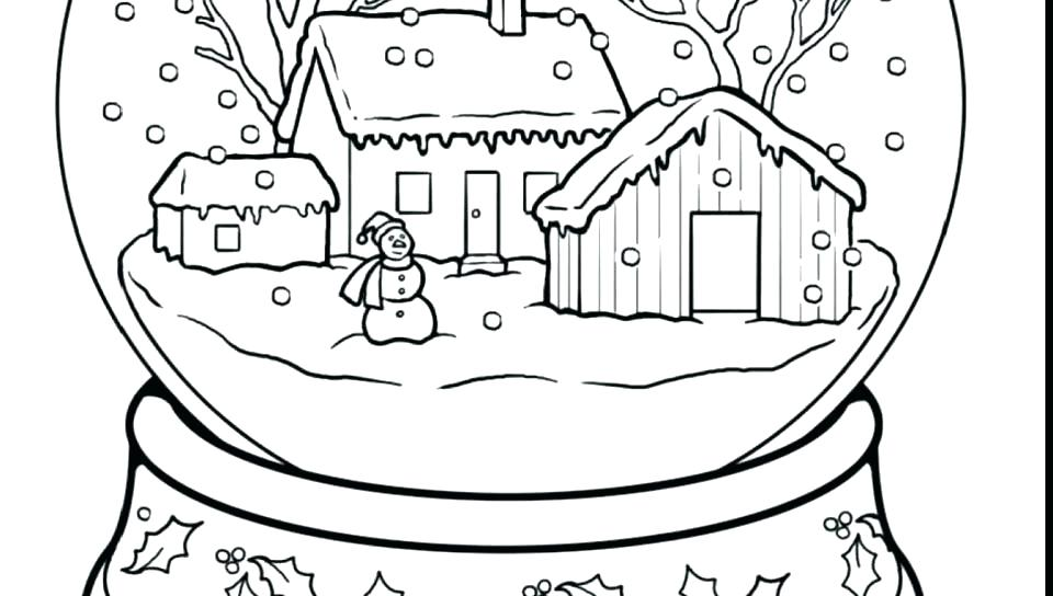 960x544 Free Coloring Pages Winter Kids Winter Coloring Pages Winter