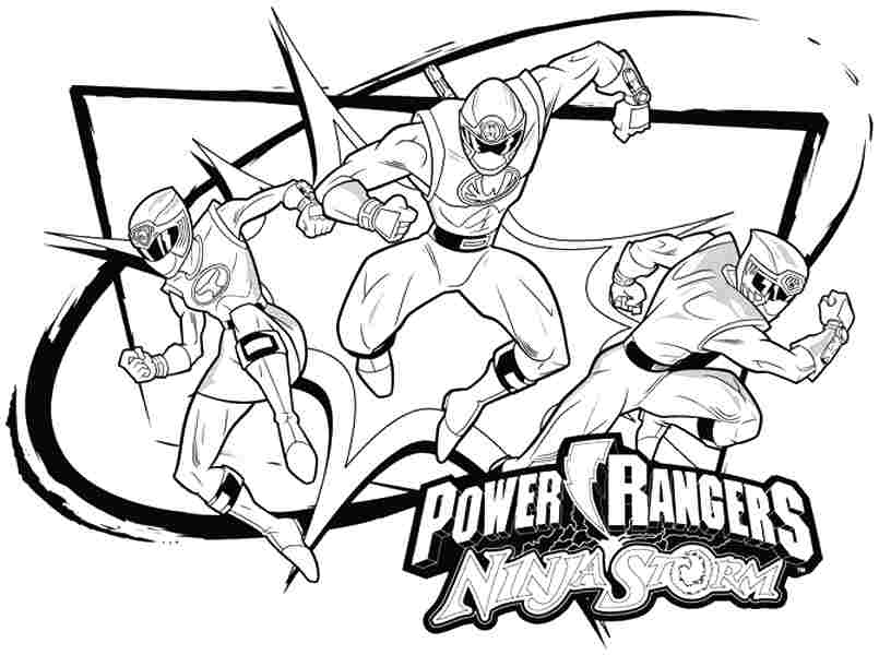 805x600 Power Rangers Coloring Pages Games