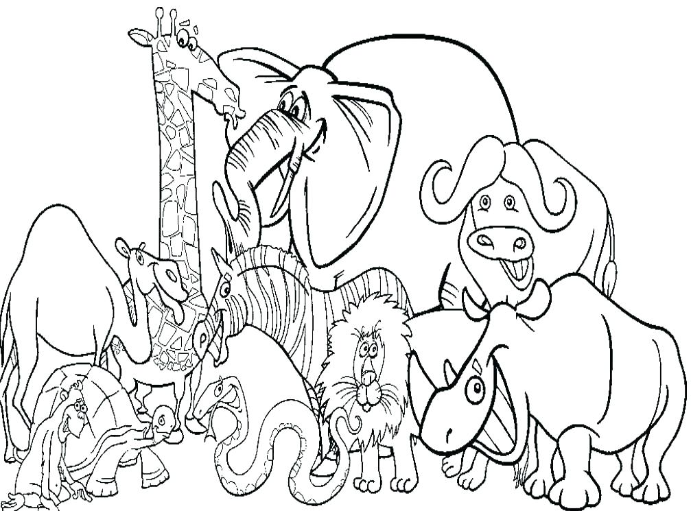 Coloring Pages For Kids Farm Animals