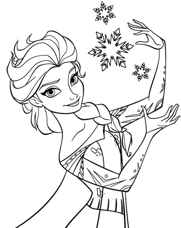 580x731 Snowflakes Coloring Pages Printable Coloring Pages Frozen World