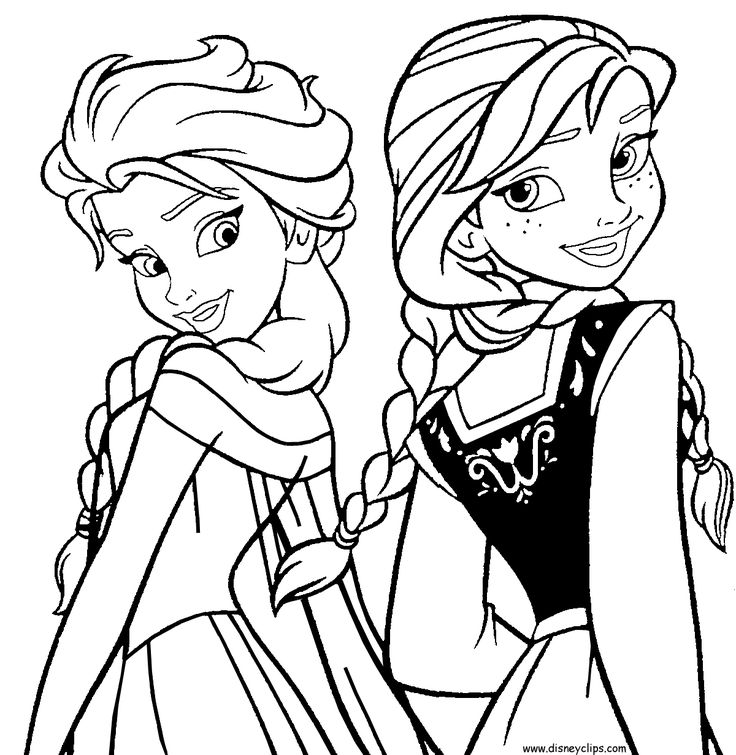 736x755 Best Frozen Coloring Images On Coloring Pages