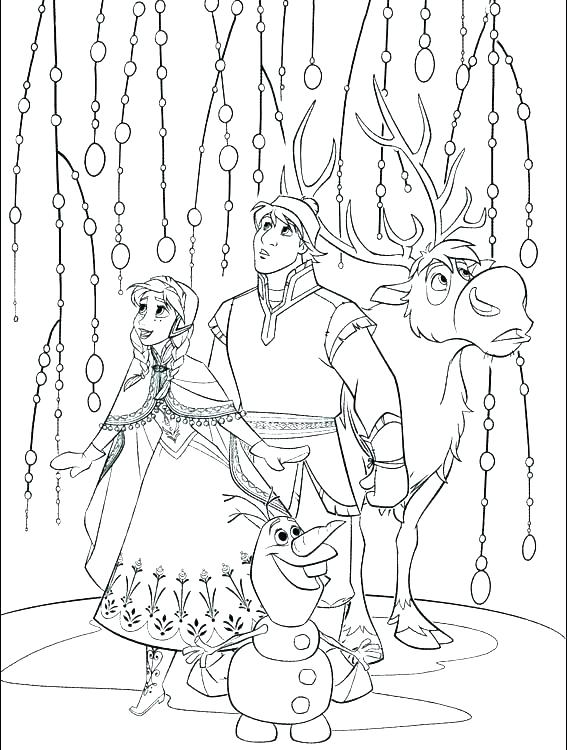 567x750 Coloring Pictures Of Olaf Printable Coloring Pages Color Pages