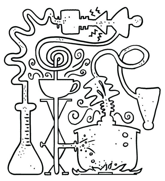 550x602 New Coloring Pages Science Coloring Pages For Kids Girl Scout
