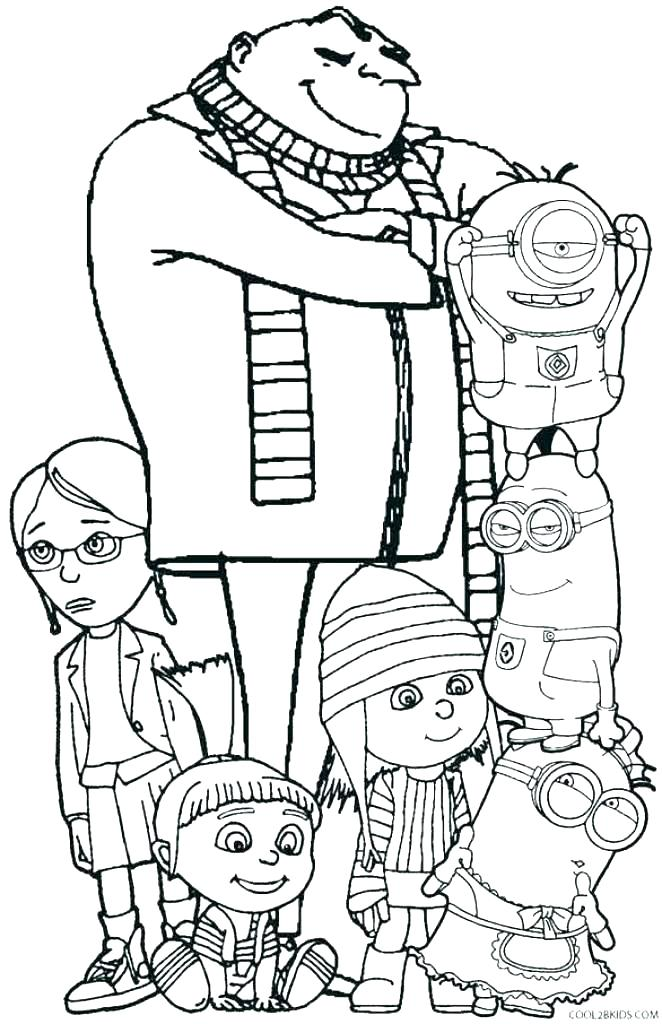 662x1024 Despicable Me Coloring Pages Despicable Me Coloring Pages