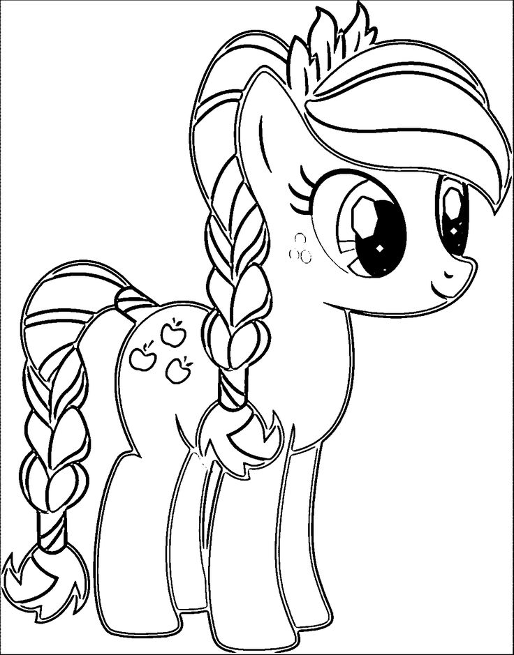 Coloring Pages For Kids My Little Pony