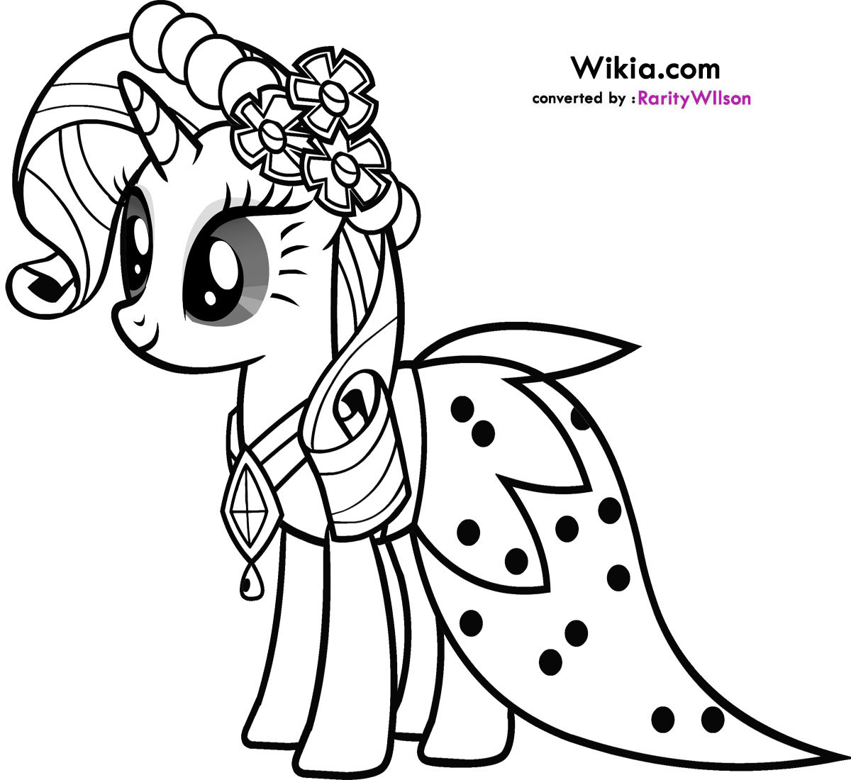 Coloring Pages For Kids My Little Pony at GetDrawings.com ...