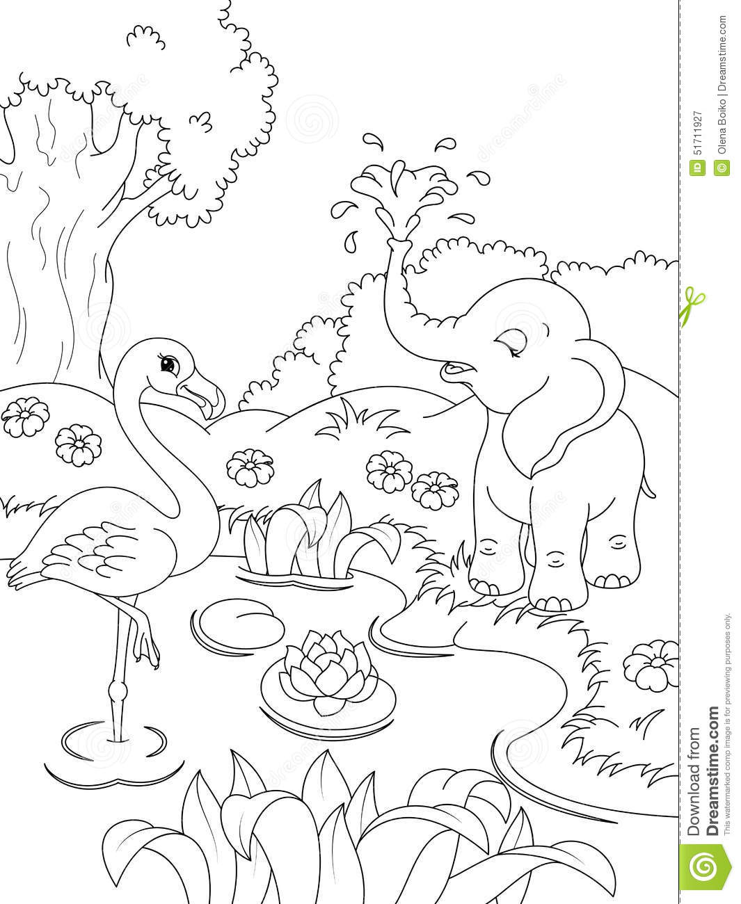 Coloring Pages For Kids Nature At Getdrawings Free Download