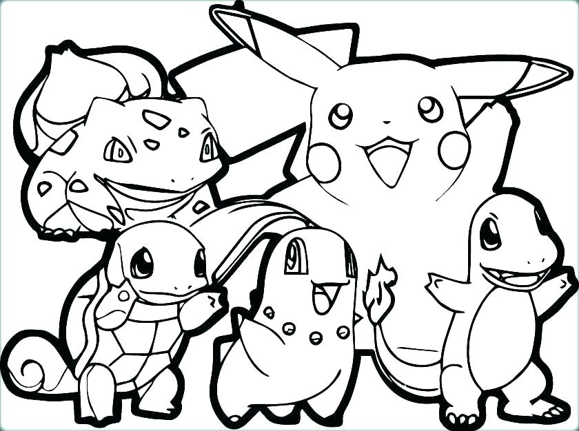 840x626 Printable Coloring Pages Pokemon Printable Coloring Pages Coloring