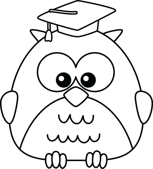 Coloring Pages For Kids Owls at GetDrawings.com | Free for personal ...