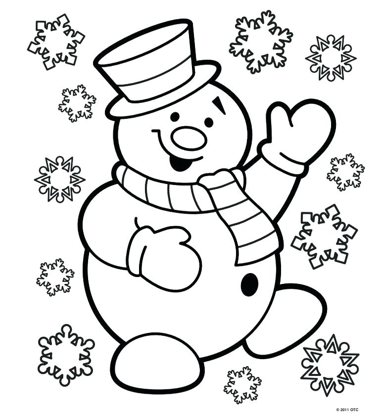768x845 Coloring Pages For Christmas Printable Merry Print Out Coloring