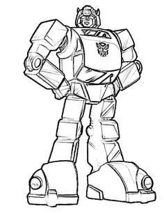 Coloring Pages For Kids Transformers
