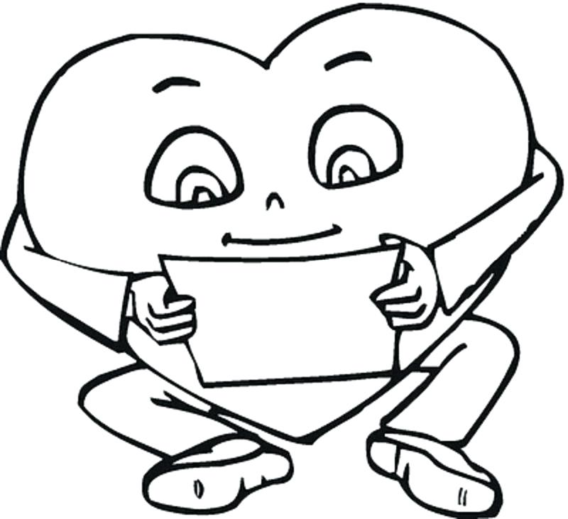 800x731 Free Printable Valentine Coloring Pages For Kids Coloring Pages