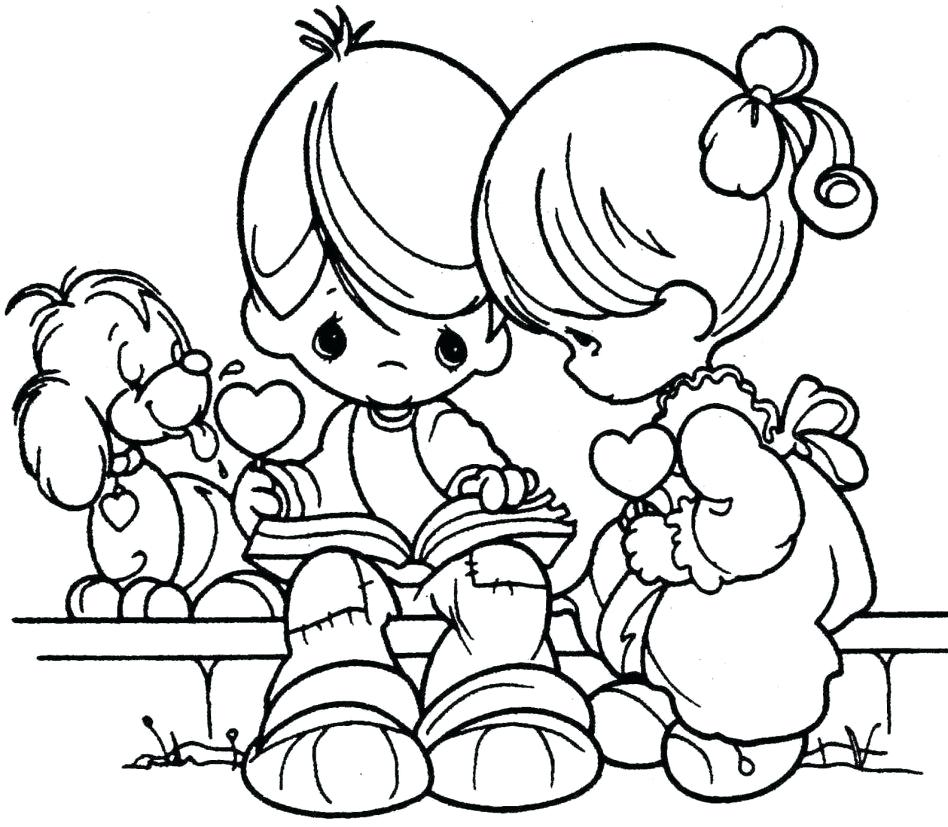 948x827 Coloring Pages Christian Valentines Day Coloring Pages