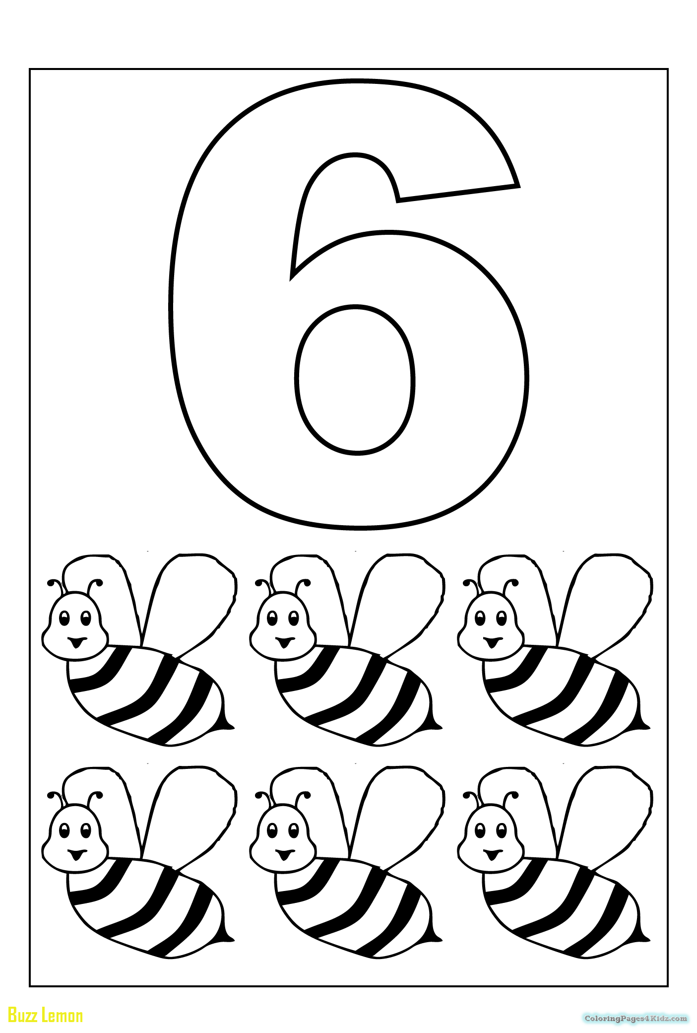 1405x2081 Inspirational Number Coloring Page Buzz Coloring