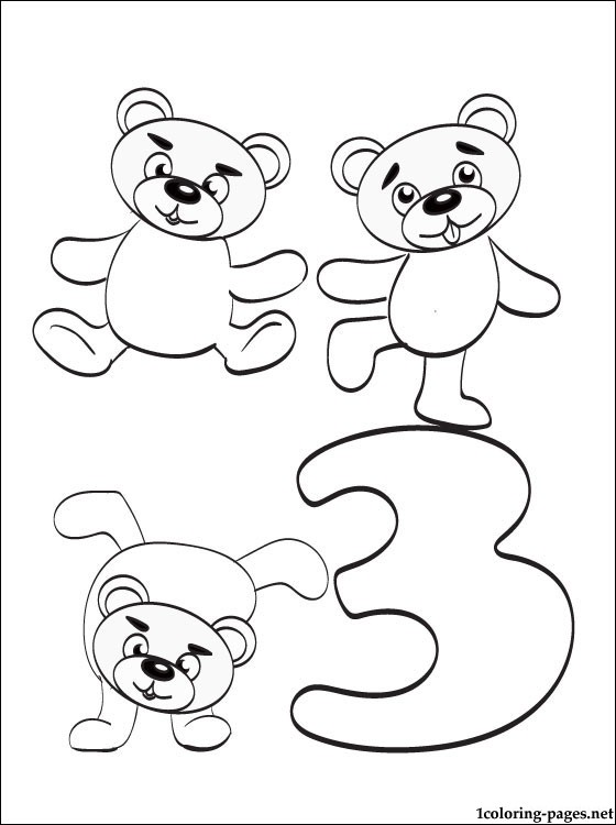560x750 Number Coloring Page