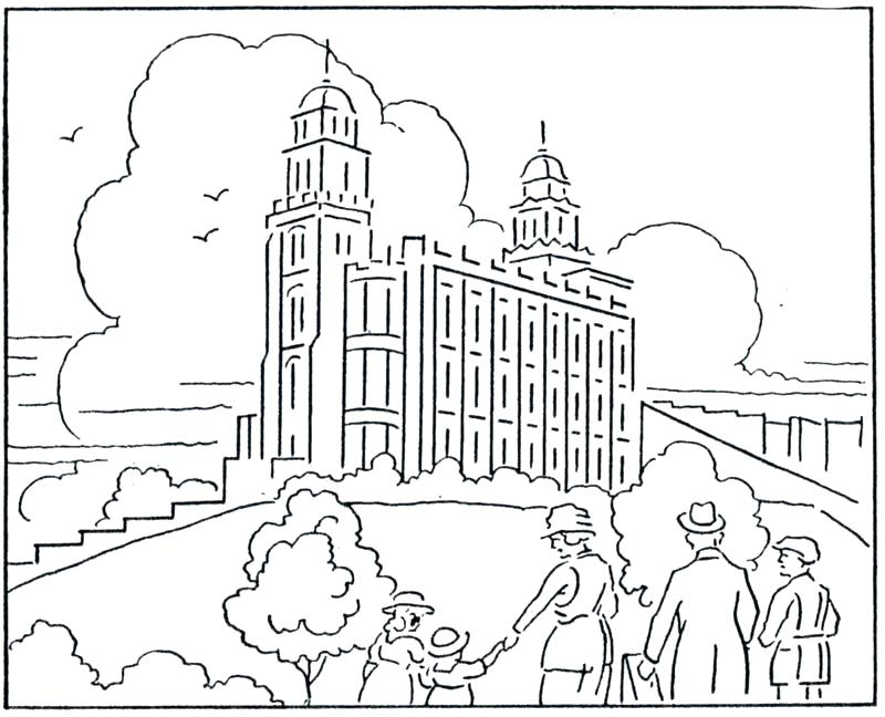 Coloring Pages For Lds Primary Lessons At Getdrawingscom Free For