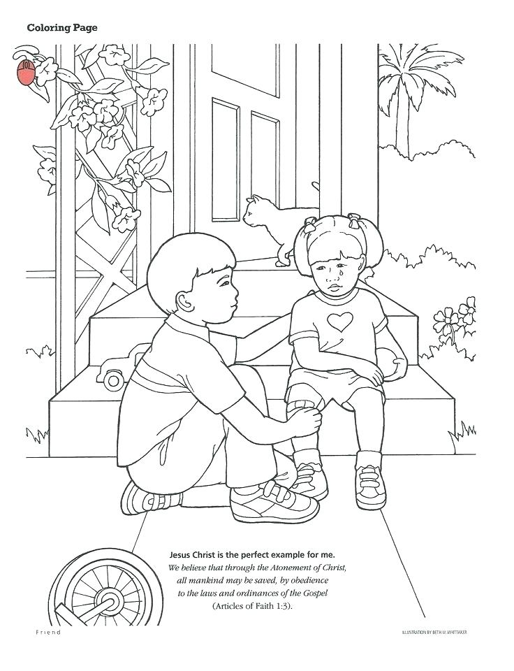 736x960 Lds Primary Coloring Pages Primary Thanksgiving Coloring Pages
