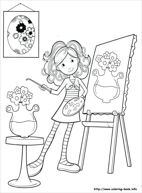 585x794 Paint Coloring Pages Microsoft Paint Colouring Pages