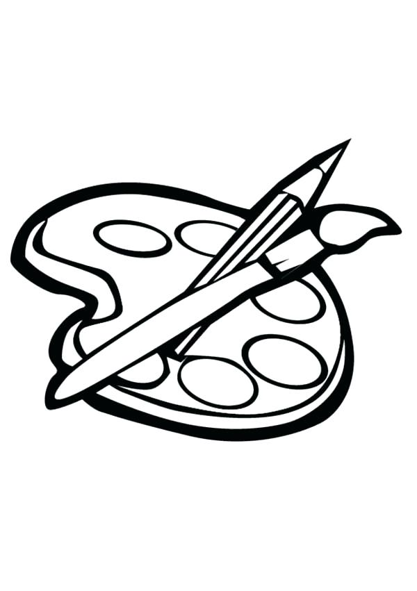 600x851 Paint Coloring Pages Coloring Collection