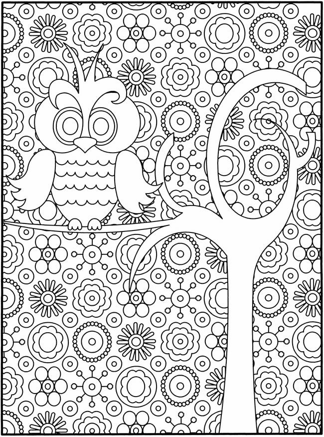 650x876 Free Owl Coloring Page Creative, Printing And Big