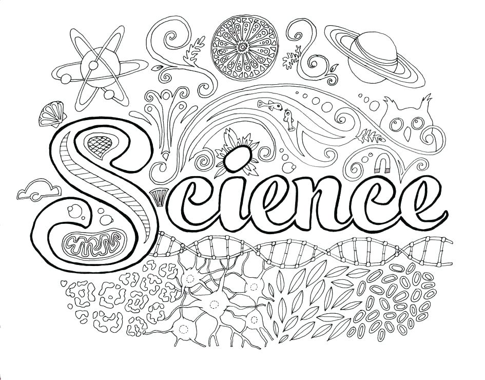945x740 Science Coloring Pages Middle School Coloring Ideas Pro