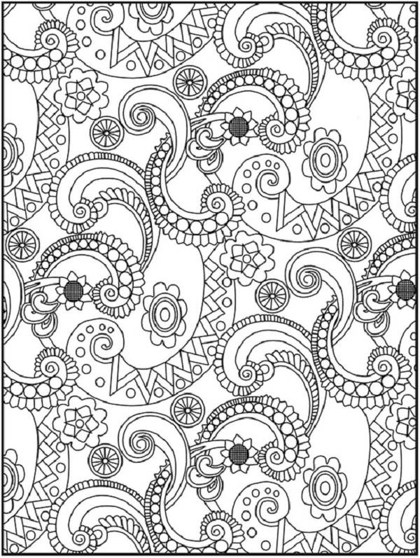 600x797 Coloring Pages For Older Kids Color Bros