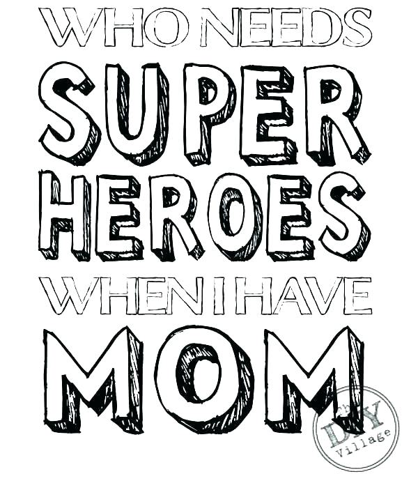 600x703 I Love Mom Coloring Pages