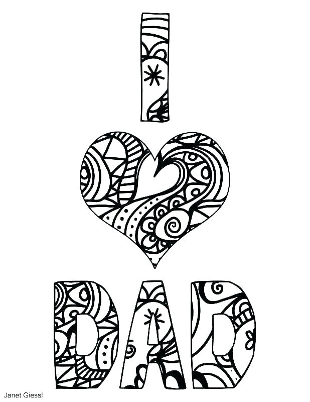 618x800 Mom And Dad Coloring Pages