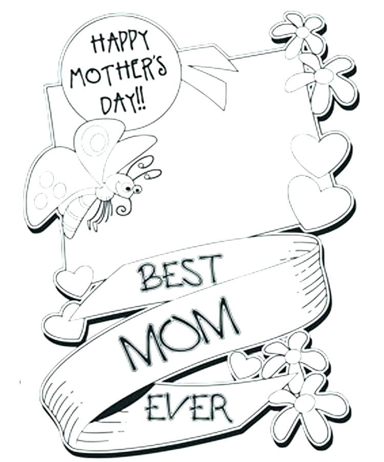 750x902 Coloring Pages For Mothers Day Colouring Pages Of Mothers Day