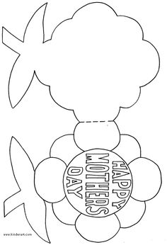 236x346 Free Mother's Day Coloring Pages