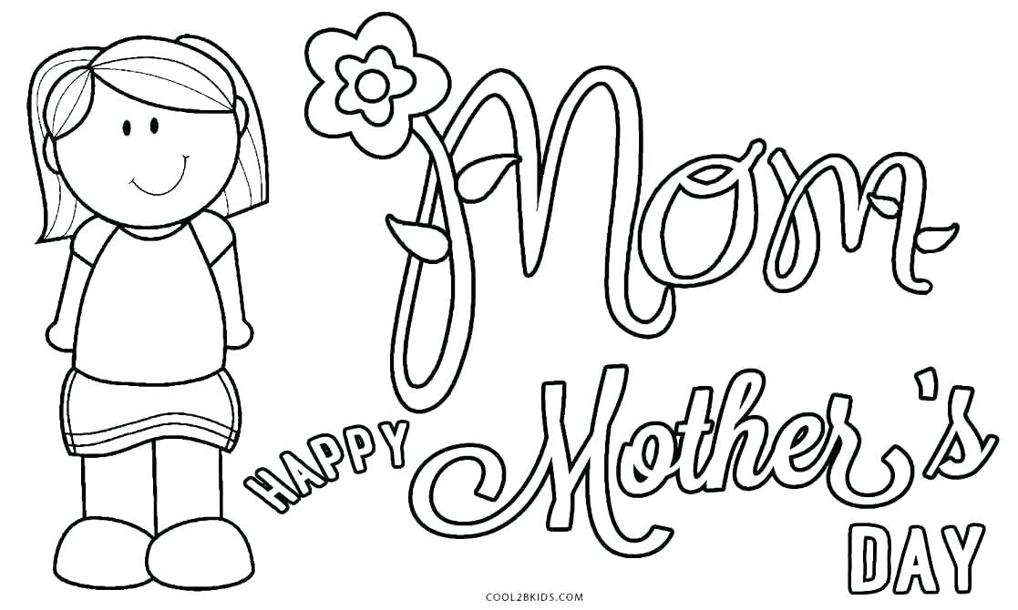 graphic relating to Printable Coloring Mothers Day Cards titled Coloring Webpages For Children With Quantities at