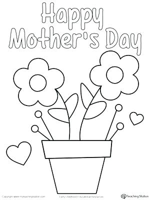 300x400 Mothers Day Coloring Pages Games Easy Printable Mothers Day Cards