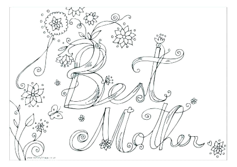 960x678 Mothers Day Printable Coloring Pages The Letter C Coloring Pages