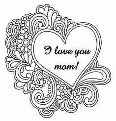 236x245 Mothers Day Cards Colouring Pages Page Mothers Day Coloring
