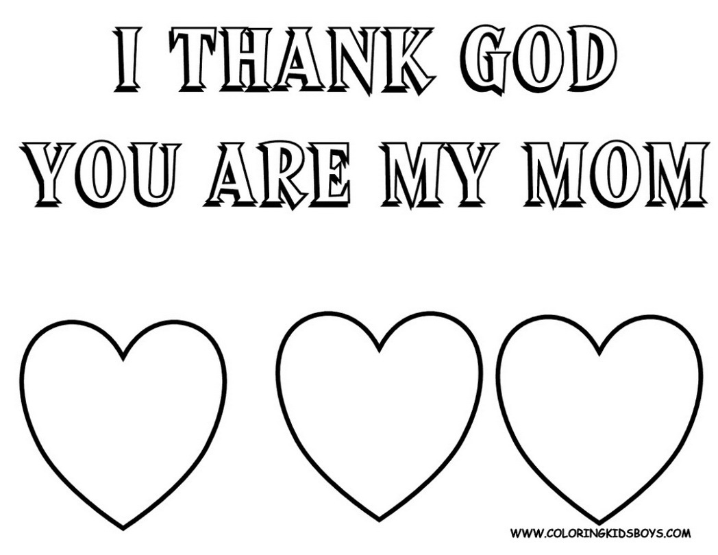1048x810 Noted Mothers Day Coloring Pages Religious For Free