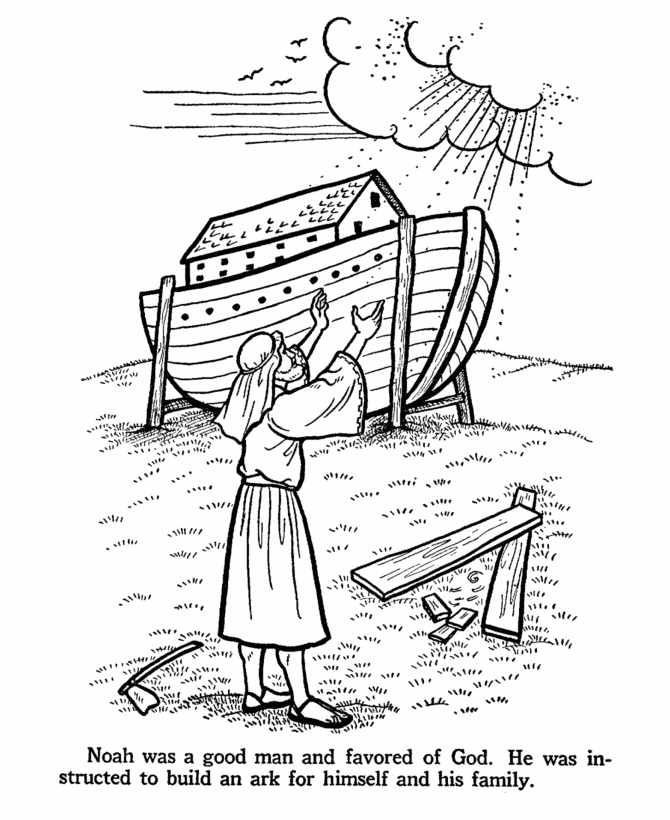 670x820 Noah And The Ark Coloring Pages Selection Free Coloring Pages