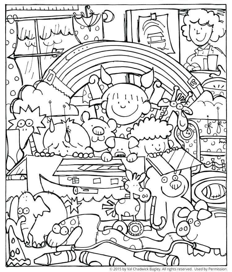 750x880 Noah And The Ark Coloring Pages And Ark Coloring Pages Medium Size