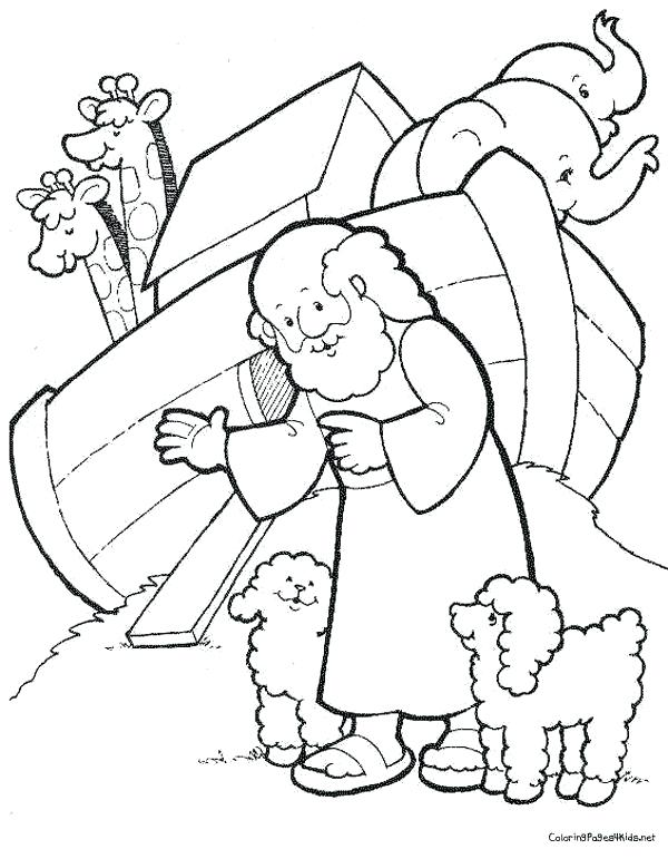 600x771 Noah Ark Coloring Pages Ark Coloring Pages Free Noahs Ark Coloring