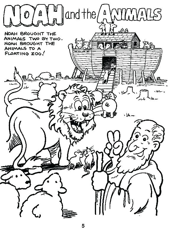 582x783 Noahs Ark Coloring Pages Kjv As Well As Ark Coloring Pages Ark