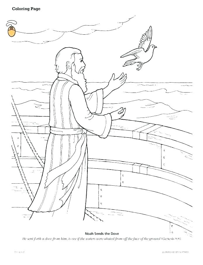 694x902 Noah And The Ark Coloring Pages