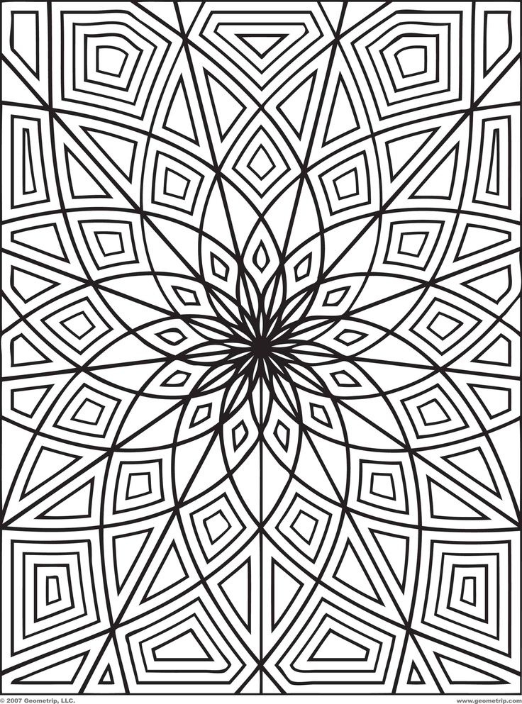 Coloring Pages For Older Students
