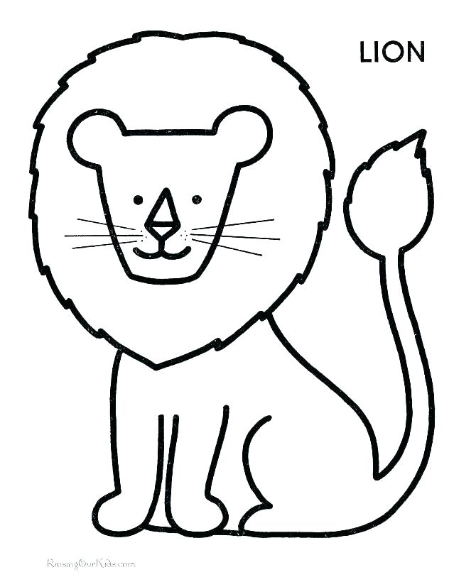 670x820 Coloring Pages For Preschoolers Animal Coloring Pages Preschool S