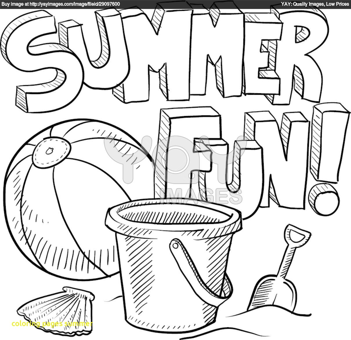 1210x1172 Expert Summer Coloring Pages Pdf For Preschool