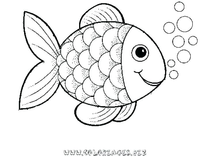 730x547 Fish Coloring Pages Preschool Rainbow Fish Coloring Sheet To Print