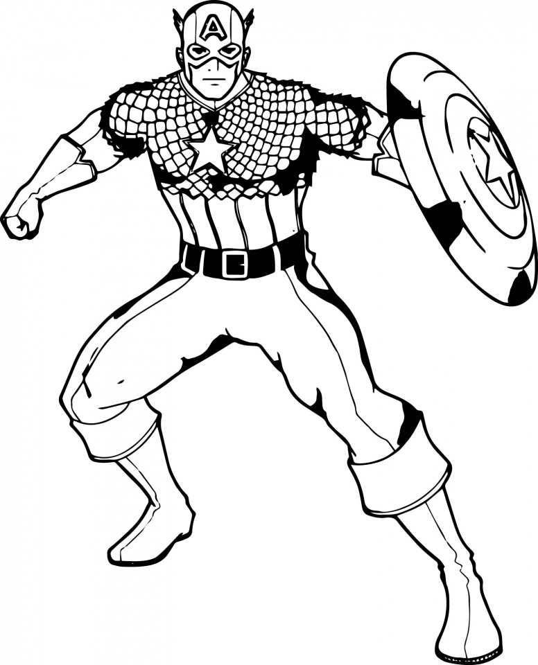 776x960 Get This Captain America Coloring Pages For Teenage Boys !