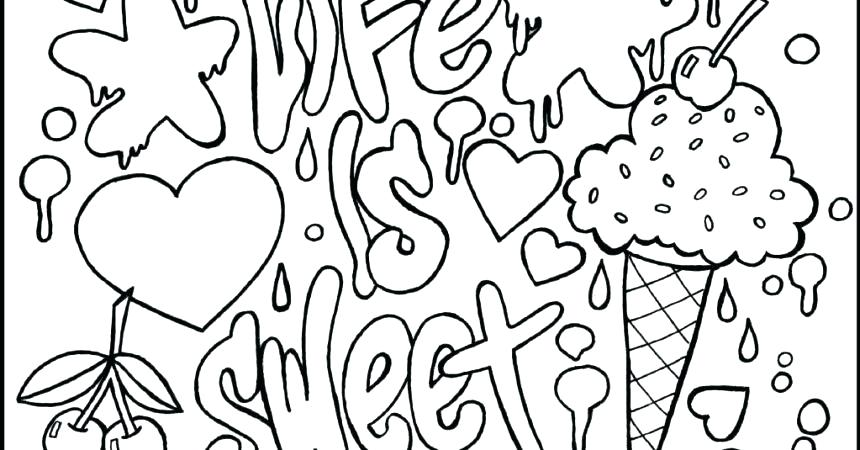 Coloring Pages For Teenage Girl